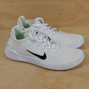 Nike Free RN 2018 White NEW
